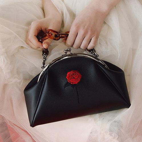11° momo bag BLACK - BLACK ROSE [SAMO ONDOH]