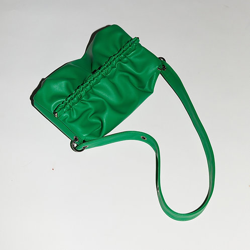 Strap Bun Bag M - Green