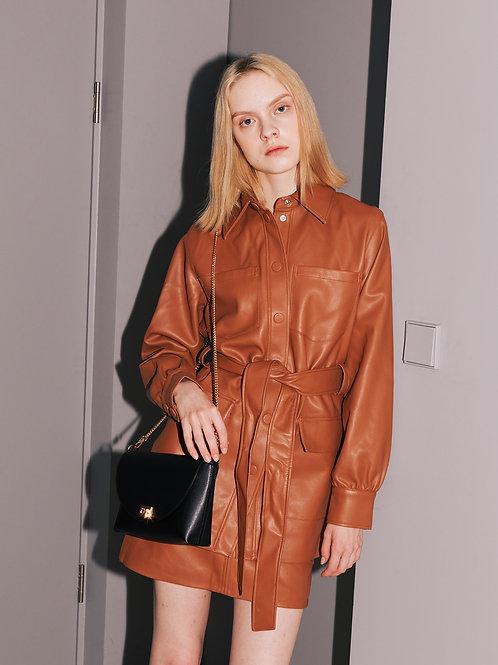 11° Flap bag Black [SAMO ONDOH]