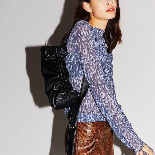 (Oh Yeon-seo bag) baguette Bag M - Black