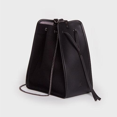 11° Canvas bag - ALL BLACK [SAMO ONDOH]