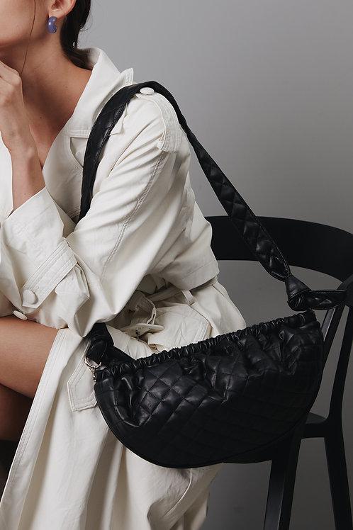 Soft Gnocchi bag L - Quilting black