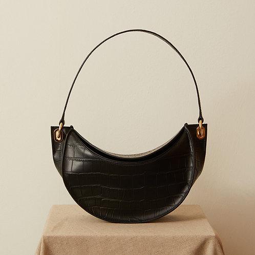 zudritt cc Bag Croc Black