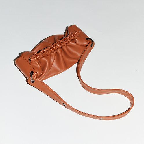 Strap baguette Bag M - Tan