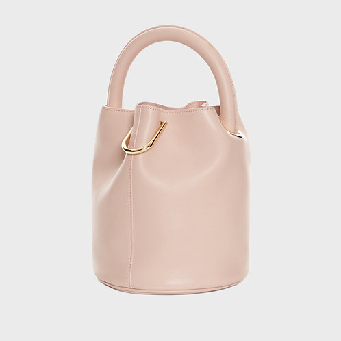 (COWHIDE) LEATHER° Hannah bag - PINK [SAMO ONDOH]
