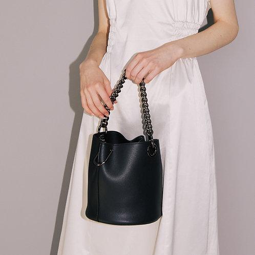 11° Hannah bag Black with Chrome chain [SAMO ONDOH]