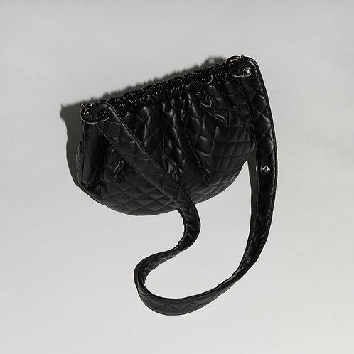 egg Bag M - Quilting Black