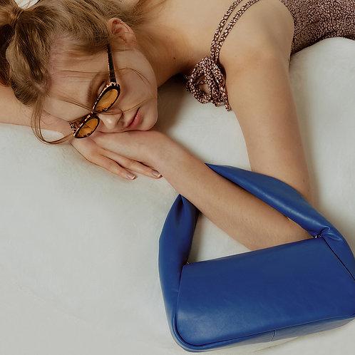 mug Bag M lambskin - blue 10 SAMO ONDOH