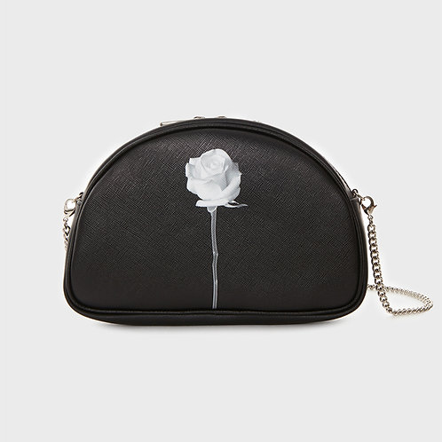 23° Luna bag - WHITE ROSE [SAMO ONDOH]