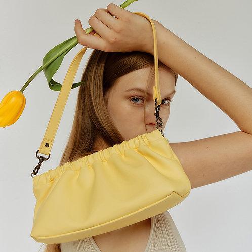 shoulder plea Bag S - banana 20 SAMO ONDOH