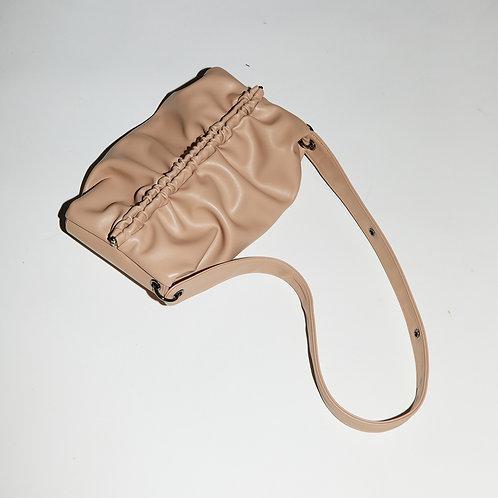 Strap Bun Bag M - Soymilk