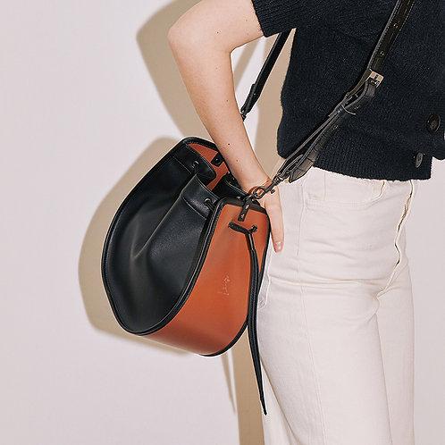 11°  Round bag Black Brown [SAMO ONDOH]