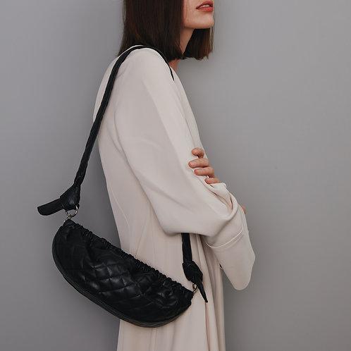 Gnocchi bag M - Quilting black