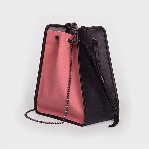 11° Canvas bag PINK - BLACK [SAMO ONDOH]