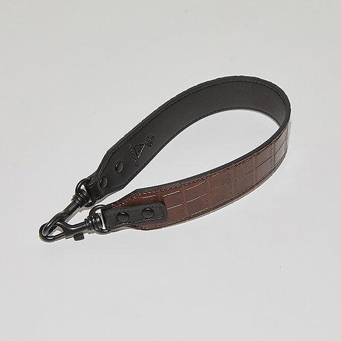 11° 40cm Strap - Croc Brown [SAMO ONDOH]
