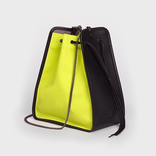 11° Canvas bag NEON - BLACK [SAMO ONDOH]