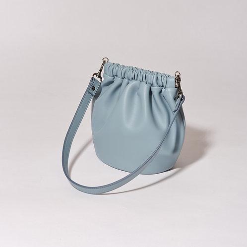 egg bag mini - baby blue