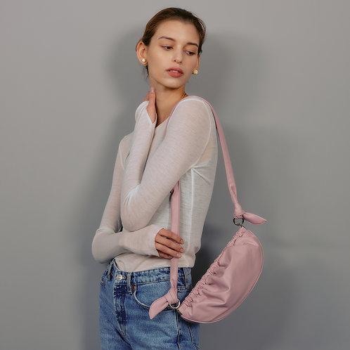 Gnocchi bag M lambskin - pale pink SAMO ONDOH