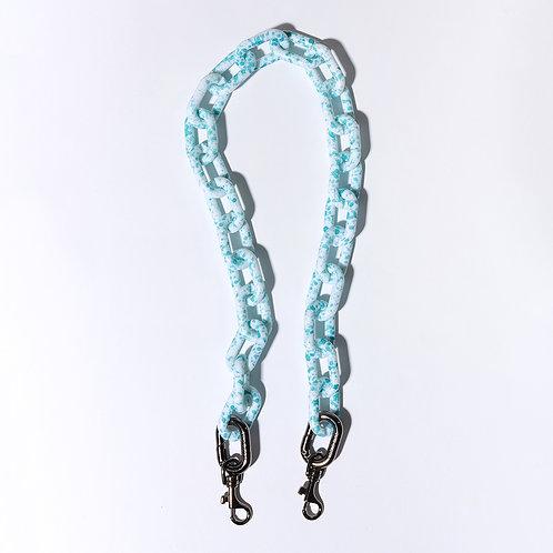 ACC terazzo chain 74cm - mint sesame SAMO ONDOH