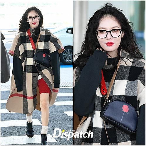 [Hyuna bag] 23° Luna bag - RED ROSE [SAMO ONDOH]