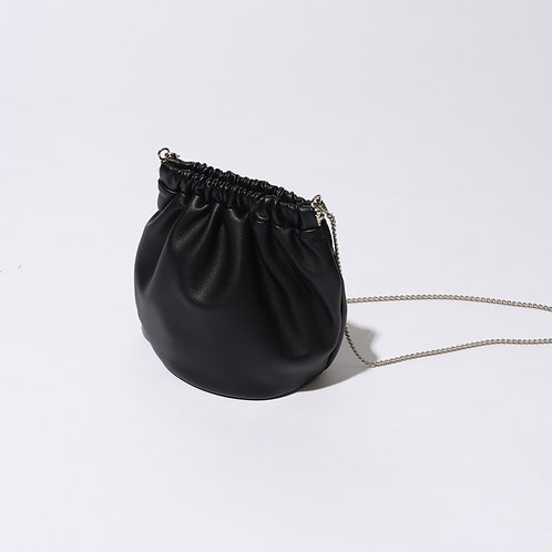 egg bag mini - black