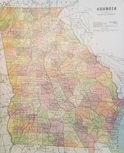 Map of Georgia M-120