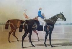 2 Jockeys, 1 Red, 1 Blue H-72