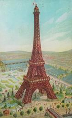 Colorful Eiffel Tower P-28