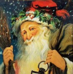 Santa with a Lantern HOL-300
