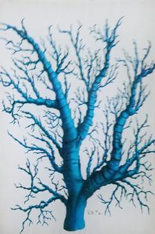 Robin Egg Blue  Coral #2 S-451