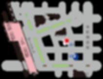 ボディらっく 地図