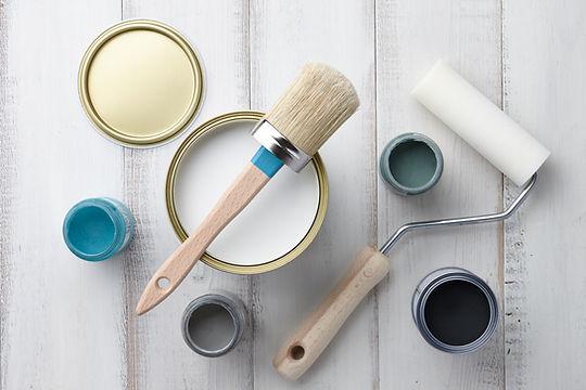 Fournitures de peinture