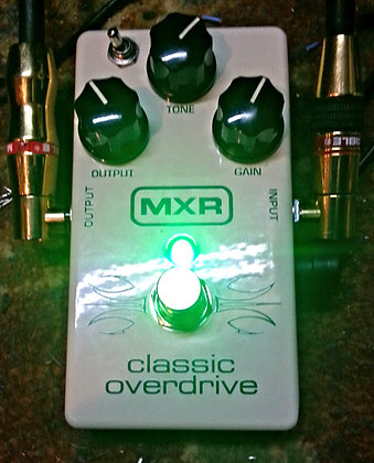 "MXR CLASSIC OVERDRIVE ""GREEN MONSTER MOD"""