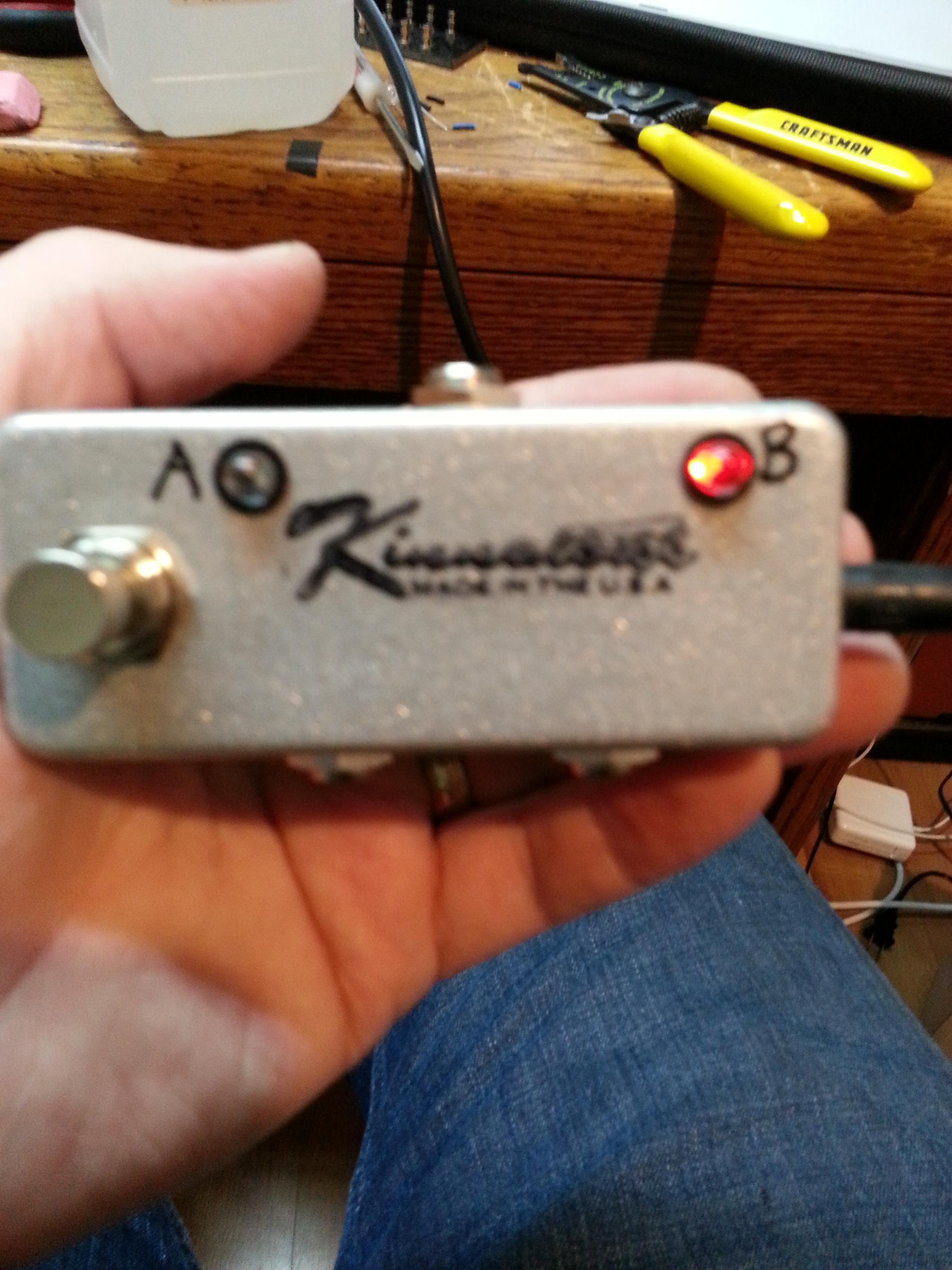 Custom Kinnatone Miniswap AB