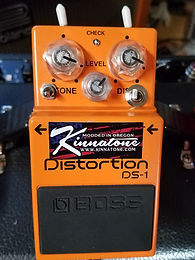 Boss DS1 with Kinnatone Synth mod