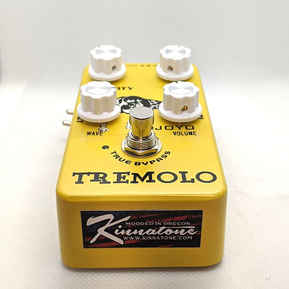 Premodded NEW Kinnatone V.D.T mod for Joyo Tremolo pedal