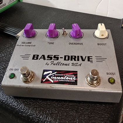 Fulltone Bass-Drive and others indepenence mod.