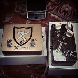 CUSTOM SHOP ABY PEDAL and KLONE