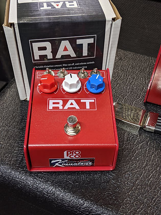 Preorder RED Ikebe  Kinnatone  Mischief ™ Extra LM308n MODDED Proco Rat