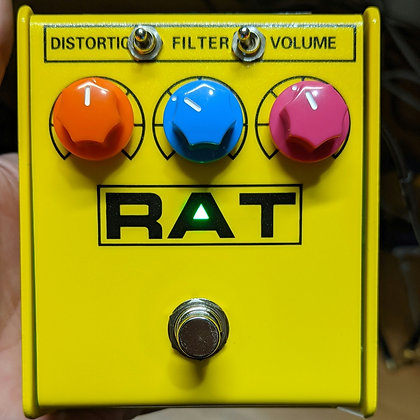 Preorder Yellow Ikebe  Kinnatone  Mischief ™ Extra or LM308n MODDED Proco Rat