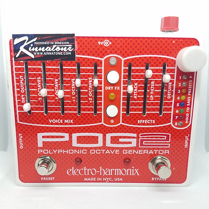 Electro Harmonix POG 2 Master Volume led soft switch