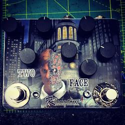 Custom 2 FACE PEDAL