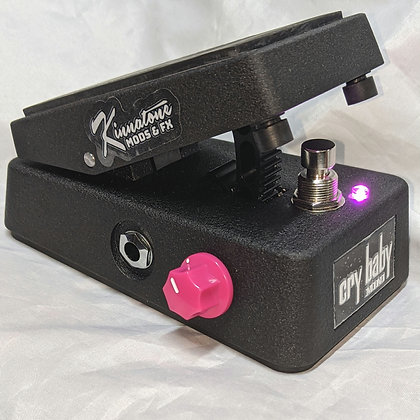 PREMODDED Kinnatone  Cry Baby Mini Wah Led & Q Control