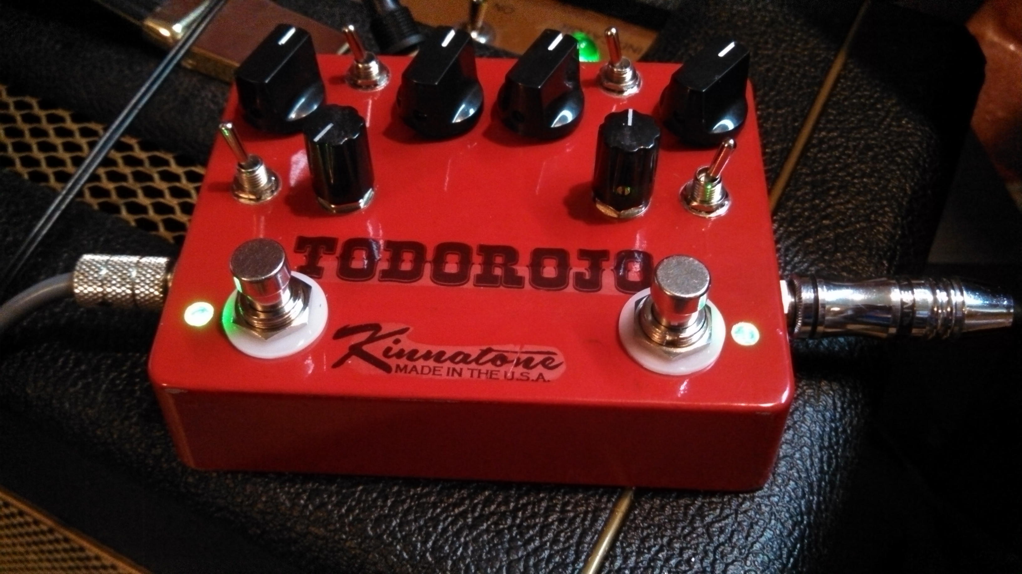 Custom TodoRojo Double Tube Screamer
