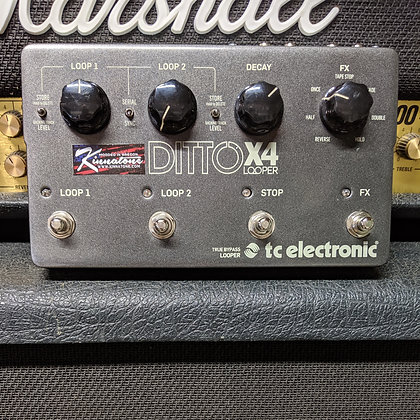 TC Electronic Ditto x4 Switch Upgrade