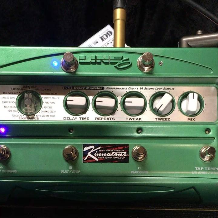 Dl4 with the Kinnatone platinum mod package #pedalboard #guitarfx #guitarlife #notpedalbored #knowyourtone