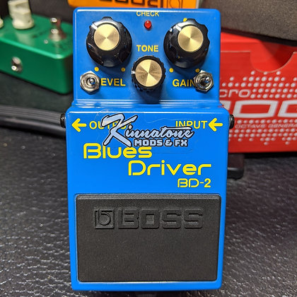 BOSS BD2 Blues Driver versa-Mod