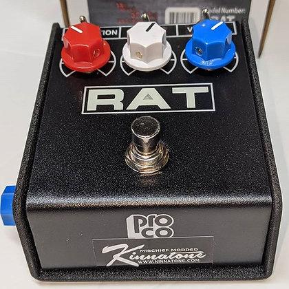 Kinnatone Mischief ™ Bass Player 3x3 Proco Rat 2 MOD