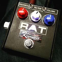 Modded Rat 2 pedal Kinnatone