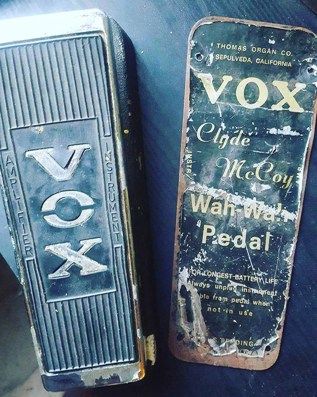 67 VOX CLYDE MCCOY SCRIPT WAH